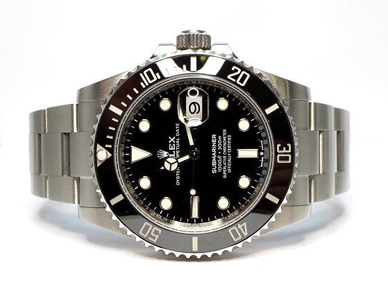 ROLEX 2020 Submariner 41, 126610LN, Ceramic Bezel, Box & Papers