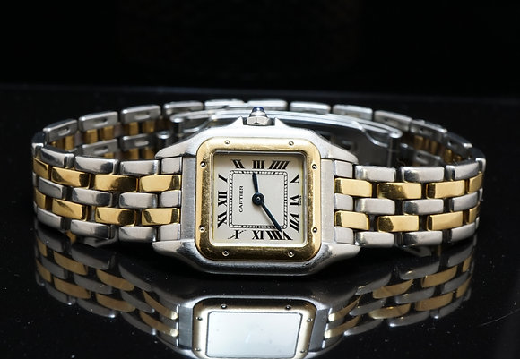 CARTIER Panthere 2 Row, Steel & Gold,
