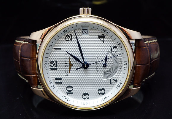 LONGINES 18ct Rose Gold Master Power Reserve, L2.666.8, MINT, Boxed