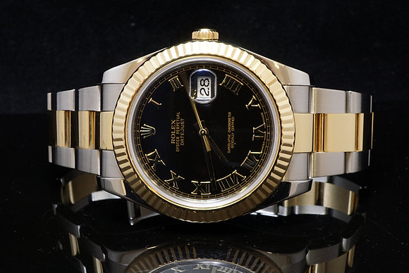 ROLEX Datejust 2, Steel & Gold, 2011, 116333