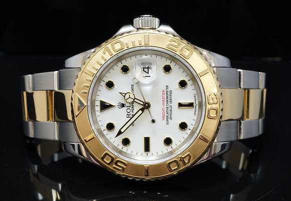 ROLEX 2007 40mm Yacht-Master, 16623, Steel & Gold, MINT, Box & Papers