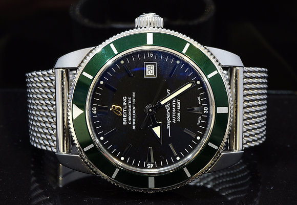 BREITLING 2016 Superocean Heritage 42, A1732136, MINT, Box& Papers