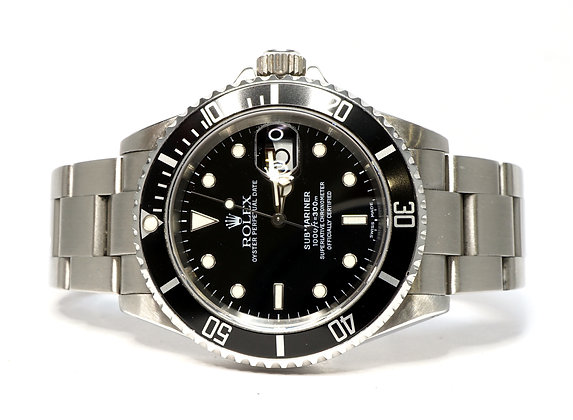 ROLEX 2000 Submariner Date, 16610, Serviced by Rolex March 2021, Boxed