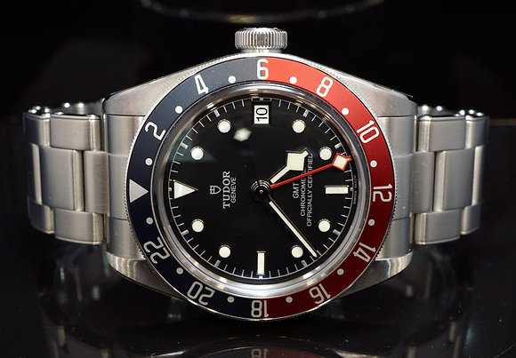 "TUDOR 2019 Black Bay GMT ""Pepsi"", 79830RB, Box & Papers"