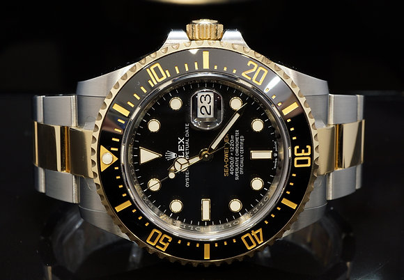 ROLEX 2019 Sea-Dweller SD43, Steel & Gold, 126603, Box & Papers
