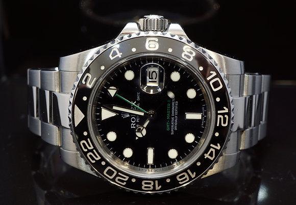 ROLEX 2007 GMT Master 2, Steel, 116710LN,MINT, Boxed