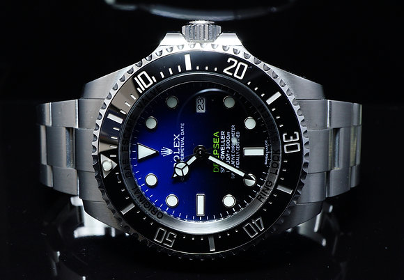 ROLEX 2017 James Cameron Deep Blue, 116660, Mint, Box & Papers