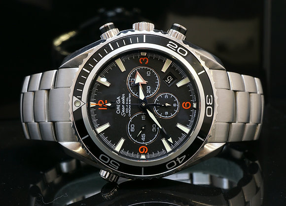 OMEGA 2011 Planet Ocean Chrono, 2210.51, B&P