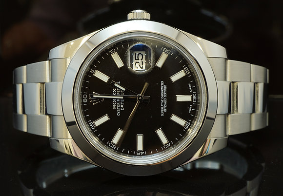 ROLEX 116300 Datejust 2, Steel, 2014, Box & Papers