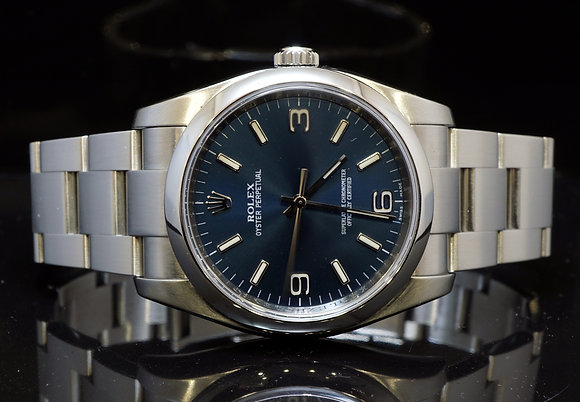 ROLEX 2009 Oyster Perpetual, 116000, MINT, Box & Papers