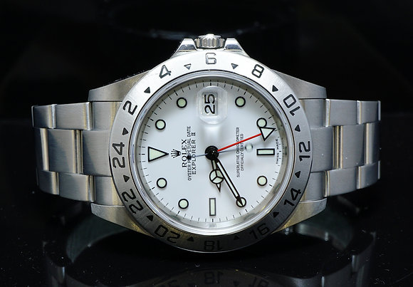 ROLEX 2012 Explorer 2, 16570, ExcellentCondition, Box & Papers