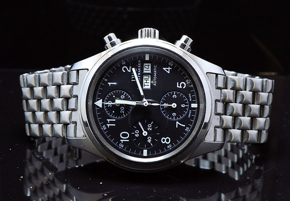 IWC 2003 Pilots Chronograph, IW3706, MINT, Box & Papers