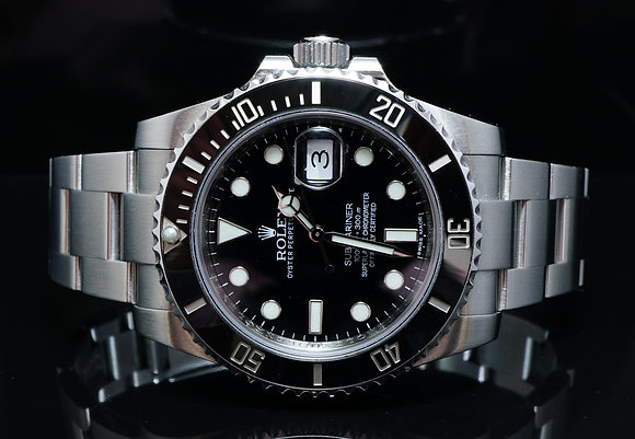 ROLEX 2011+ Submariner Date, 116610LN, MINT, Boxed