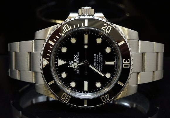 ROLEX 2014 Submariner, Non Date, 114060, MINT, Box & Papers