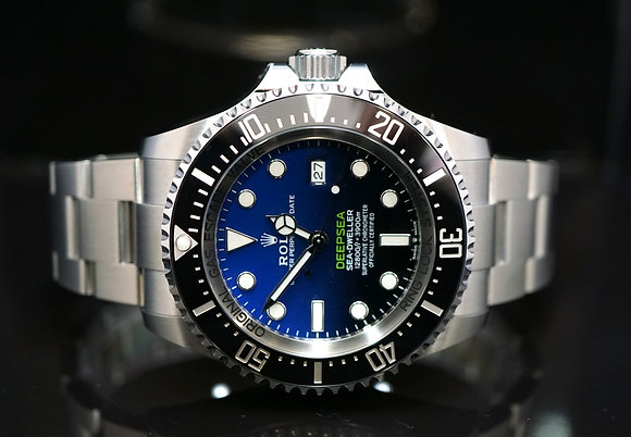 ROLEX 2018 James Cameron Deepsea, 126660, Partially Stickered, Box & Papers