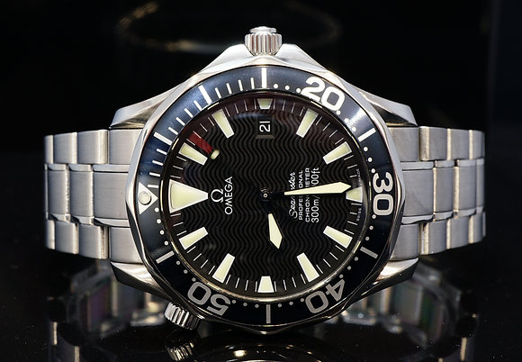 OMEGA 2010 41mm Seamaster, Steel, Auto, Just Serviced, 22545000, Box & Papers