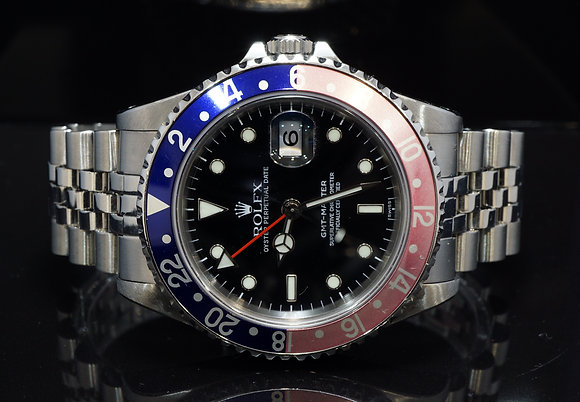 "ROLEX 1989 GMT Master ""Pepsi"", 16700, Serviced by Rolex May 2019"