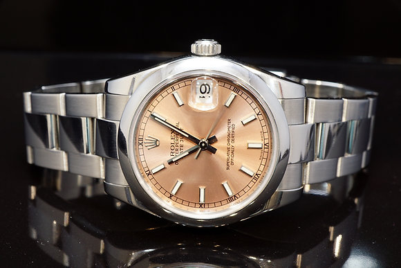 ROLEX 2008 31mm Datejust, Steel, 178240, Box & Papers