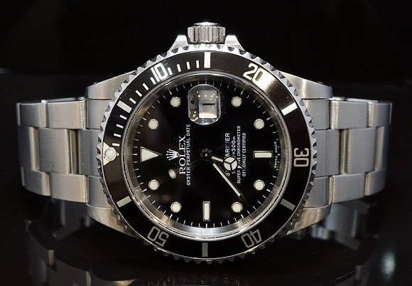 ROLEX 1999 Submariner, Steel, 16610, Box & Papers