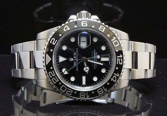 ROLEX 116710LN GMT 2, Steel, 2013, Box & Papers, MINT
