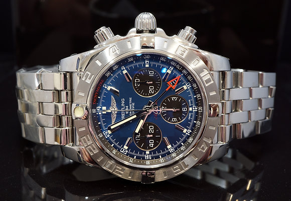 BREITLING 44mm Chronomat GMT, Steel, AB042011,Boxed, Automatic, UNWORN