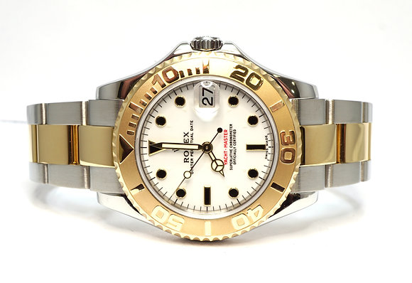 ROLEX 2005 Yacht-Master 35, 168623, Steel & Gold, 35mm, Box & Papers