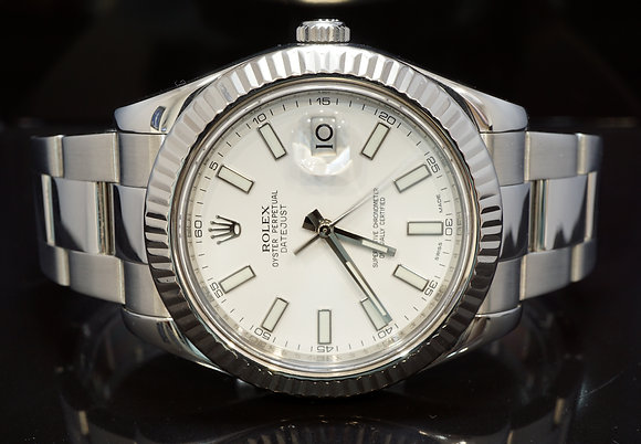ROLEX 2010 Datejust 2, Steel, 116334, Boxed