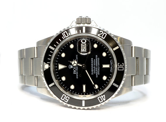 ROLEX 2007 Submariner Date, 16610, Stainless Steel, Boxed