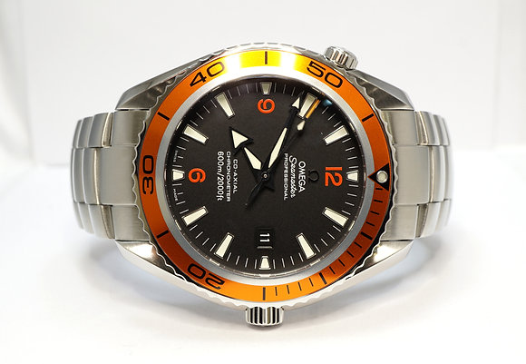 OMEGA 2010 Planet Ocean 45.5mm, 22085000, Seamaster, Box & Papers