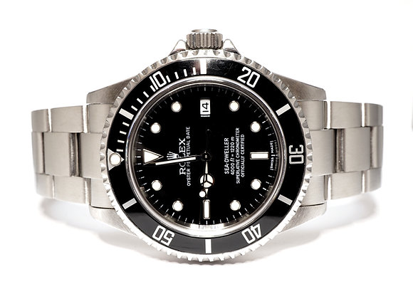 ROLEX 2006 Sea-Dweller, 16600, Rolex Service 2018, Box & Papers
