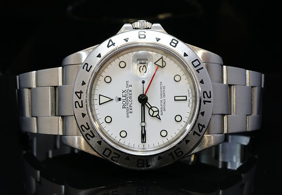 ROLEX 2005 Explorer II, 16570, Boxed