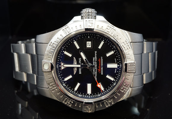 BREITLING 2014 45mm Avenger II Seawolf, A1733110, Box & Papers