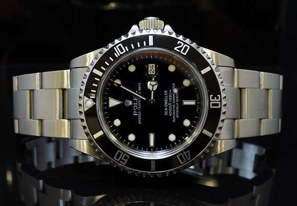 ROLEX 2006 Sea Dweller, 16600, MINT, Box & Papers