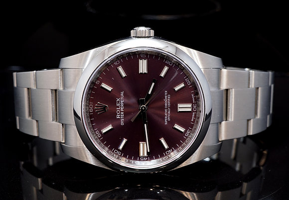 ROLEX 2019 Oyster Perpetual 36 Grape, 116000, MINT, Box & Papers