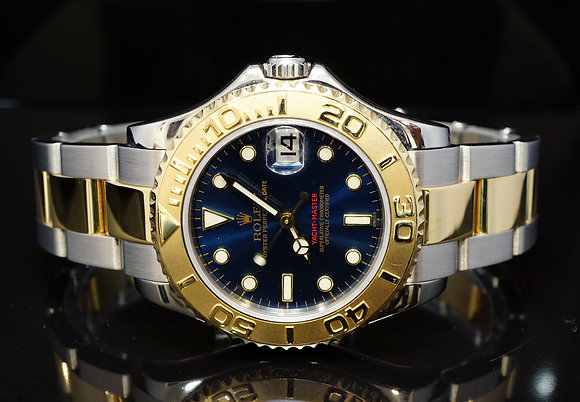 ROLEX 2000 35mm Yacht-Master, 168623, Steel & Gold, Boxed