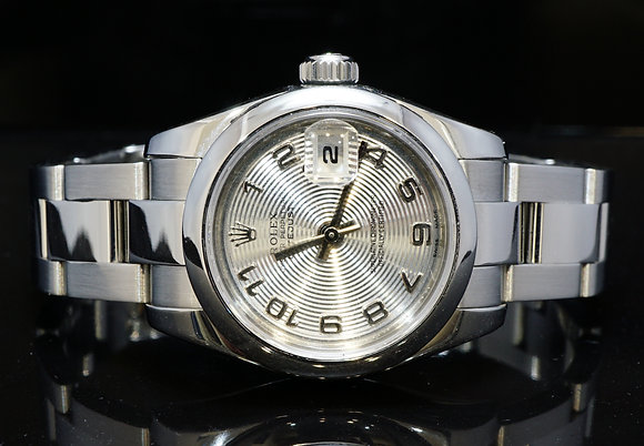 ROLEX 2008 26mm Datejust, Steel, Silver Dial, 179160, MINT, Box & Papers