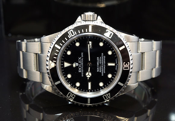 ROLEX 2002 Sea-Dweller, 16600, Steel, Box & Papers