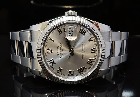 ROLEX 2010 36mm Datejust, 116234, MINT, Boxed