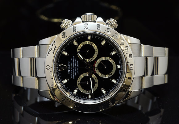 ROLEX 2008 Daytona, Stainless Steel, 116520, MINT, Box & Papers