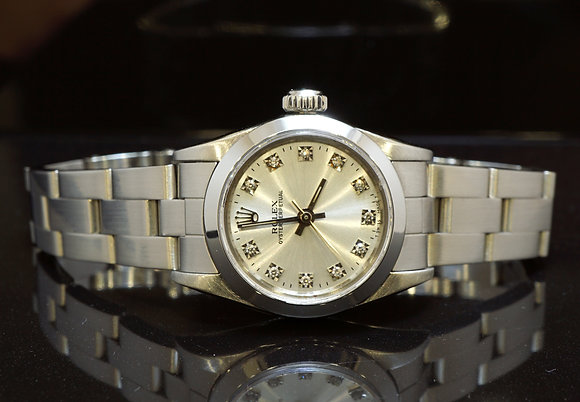 ROLEX 1989 Oyster Perpetual, 67180, MINT, Boxed