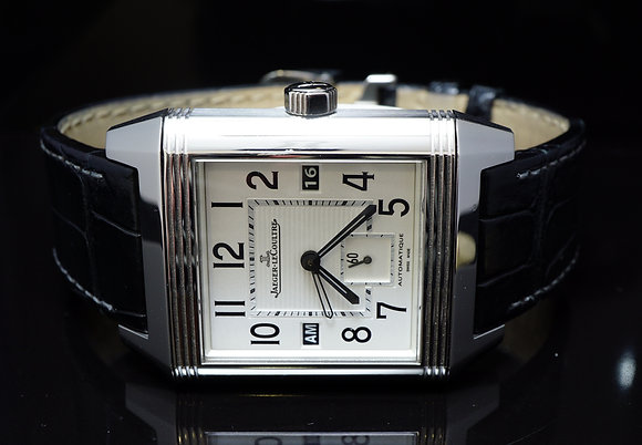 Jaeger LeCoultre 2011 Squadra Hometime auto, 230.8.77, MINT,Box & Papers