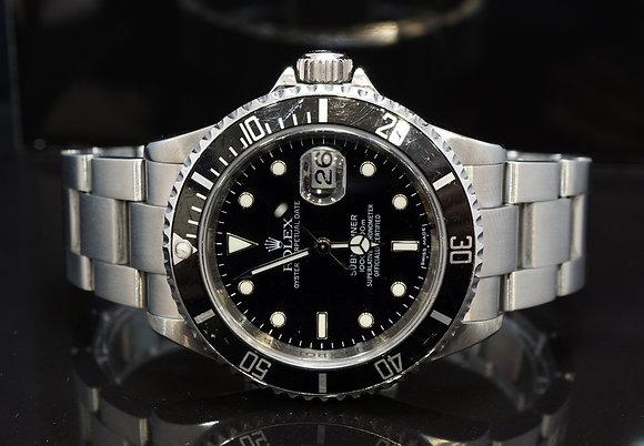 ROLEX 2008 Submariner Date, 16610T, Steel, Boxed