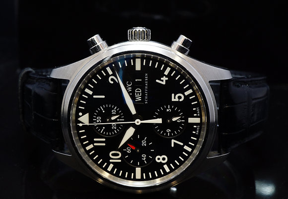 IWC 2008 Pilots Chronograph, IW371701, Box & Papers