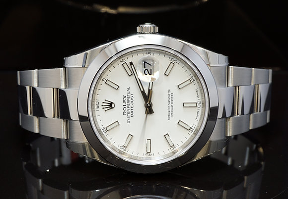 ROLEX 2018 Unworn Datejust 41, 126300, Fully Stickerd, Box & Papers