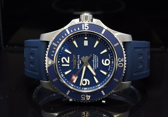 BREITLING 2019 Superocean II 44, UNWORN, A17367D81C1S1, Box & Papers