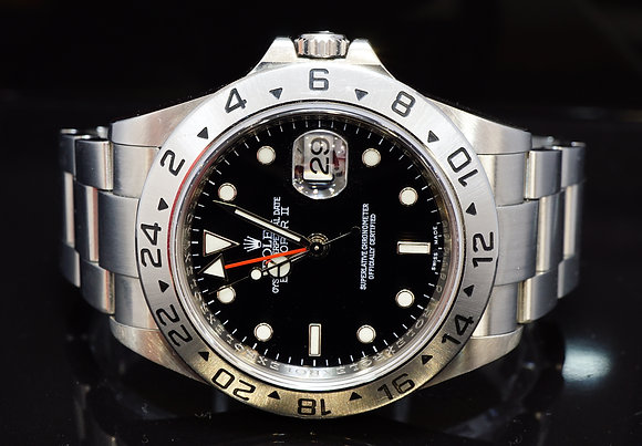ROLEX 2008 Explorer 2, 16570, 3186 Calibre, Unpolished, Box & Papers