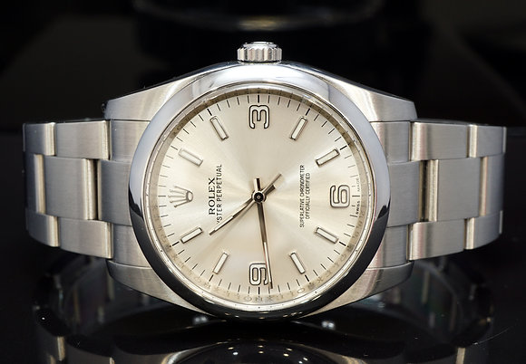 ROLEX 2013 36mm Oyster Perpertual, 116000, MINT, Box & Papers