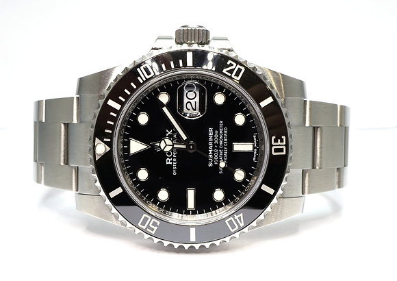 ROLEX 2019 Submariner Daye, 116610LN, Partially Stickered, Box & papers
