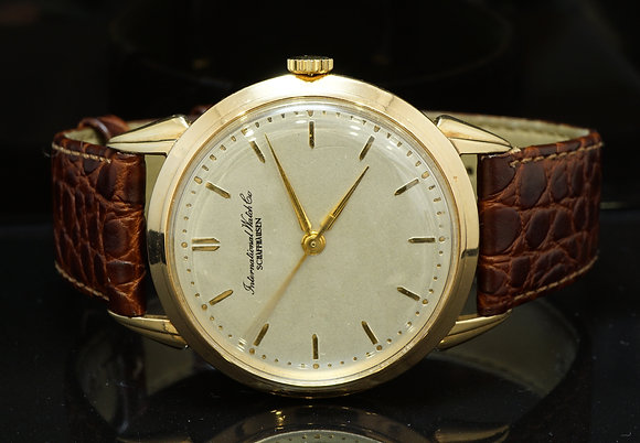 IWC 18ct Rose Gold Mechanical Gents Watch