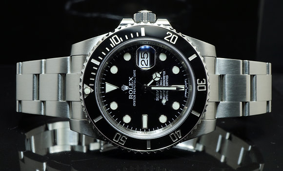 ROLEX Submariner, All Steel, 2011, 116610LN